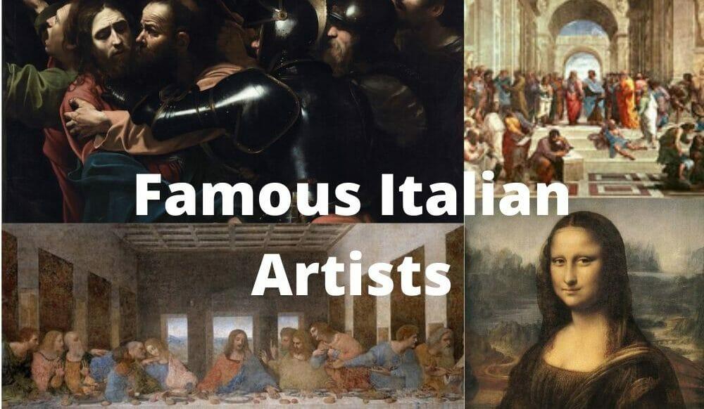 Famous Italian Artists