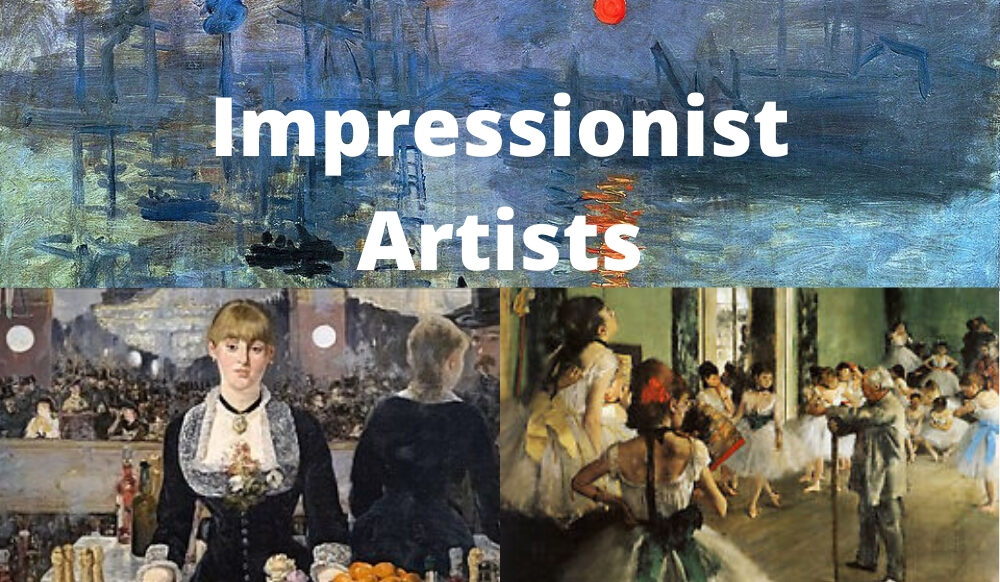 Famous Impressionist Artists