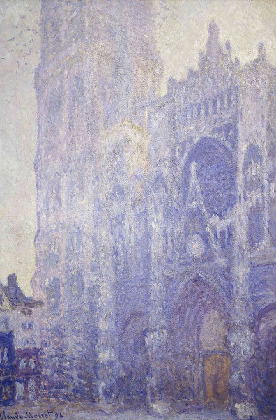 Rouen Cathedral Monet