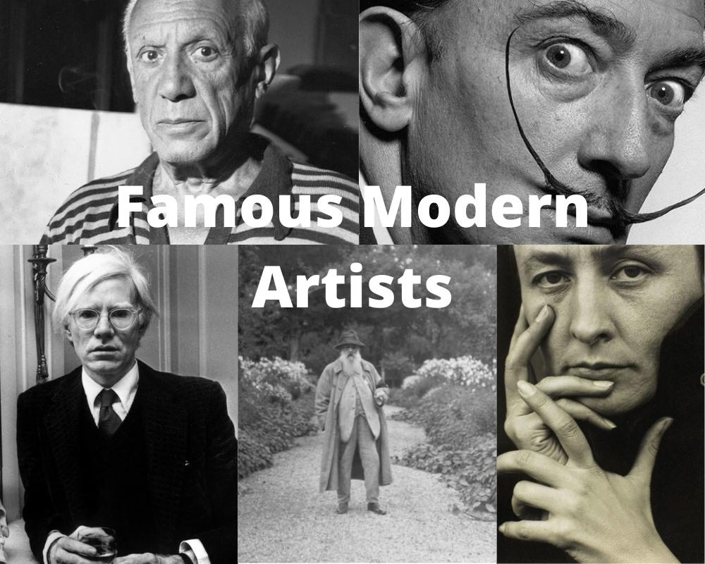 Famous Modern Artists