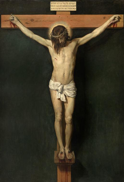 """""""Kristus korsfæstet"""" Diego Velazquez"""