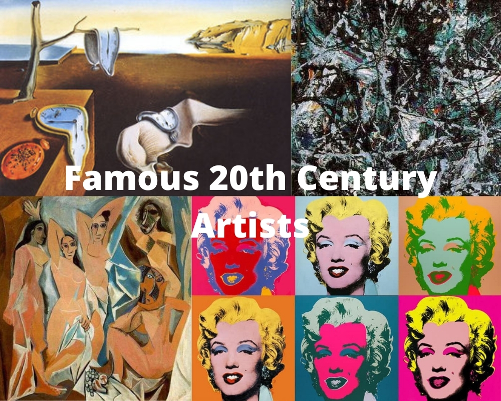 Famous 20th Century Artists