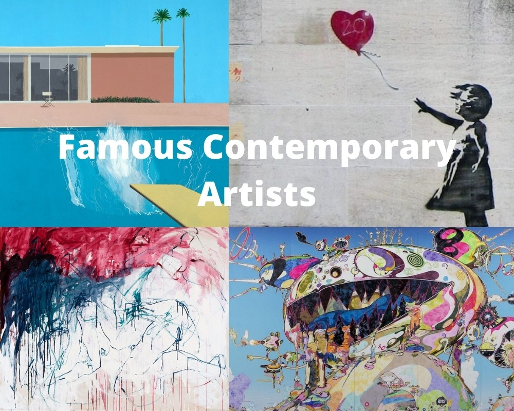 Famous Contemporary Artists