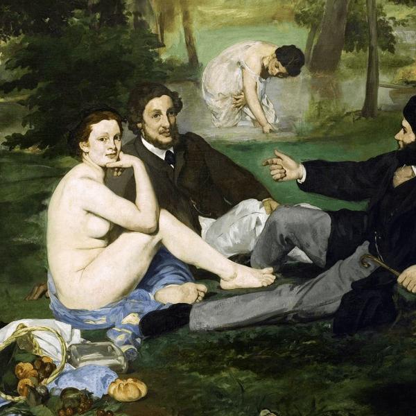 Dejeuner sur lHerbe by Edouard Manet
