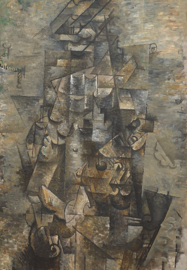 Man with a Guitar Georges Braques
