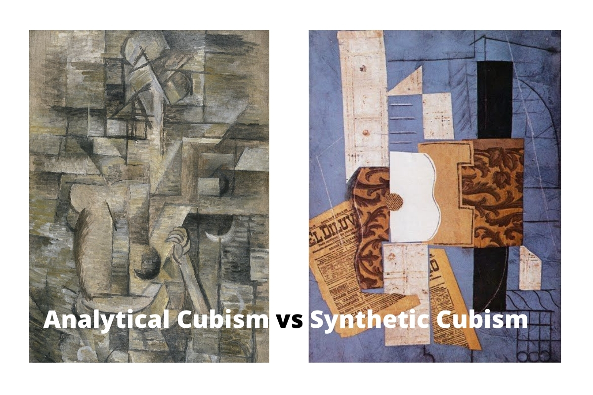 Analytical Cubism vs Synthetic Cubism
