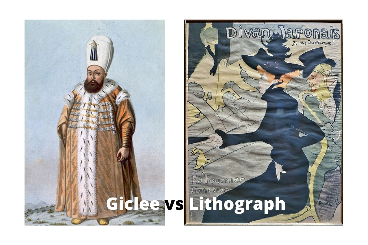 Giclee vs Lithograph