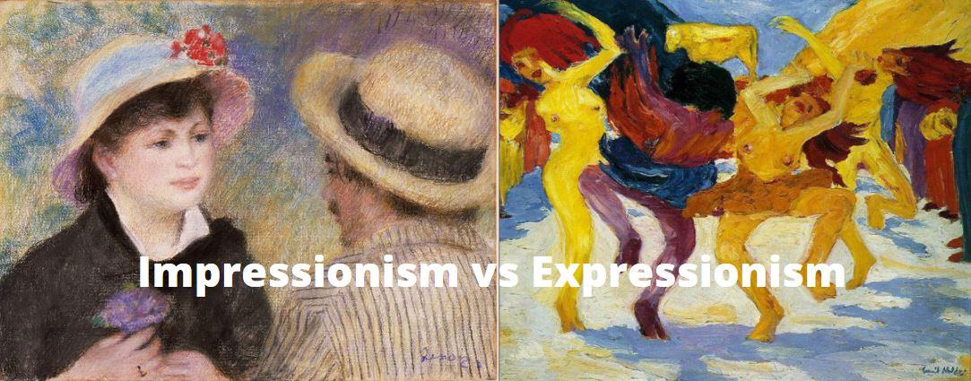 Impressionism vs Expressionism