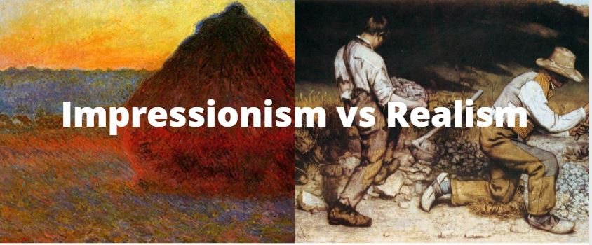 Impressionism vs Realism