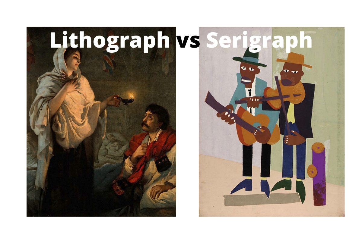 Lithograph vs Serigraph