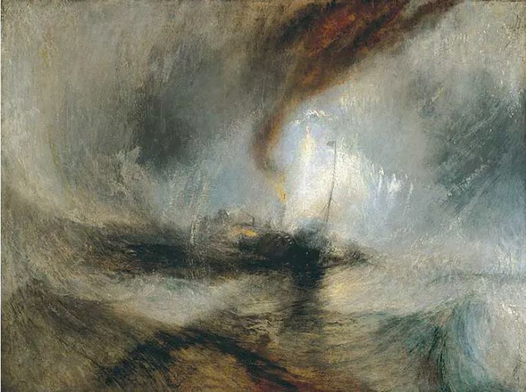 Snow Storm – Steam- Boat off a Harbours Mouth