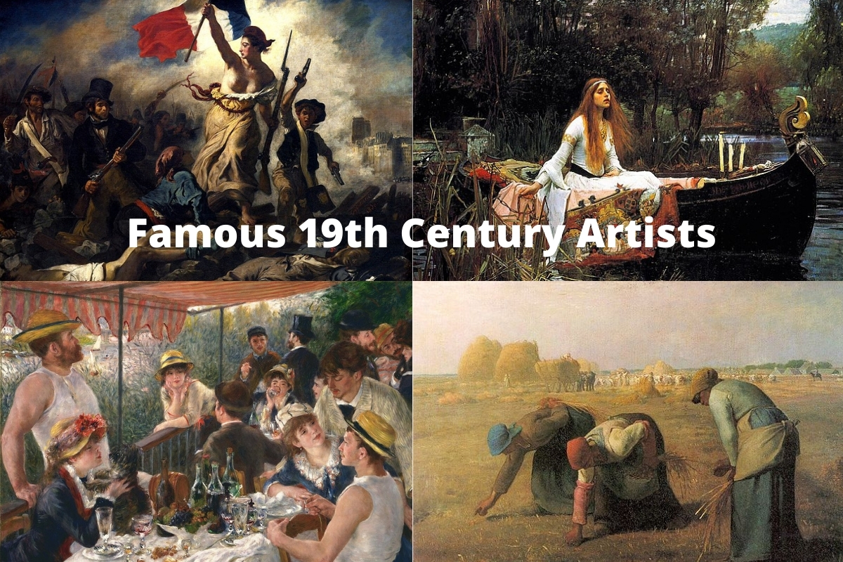 Famous 19th Century Artists