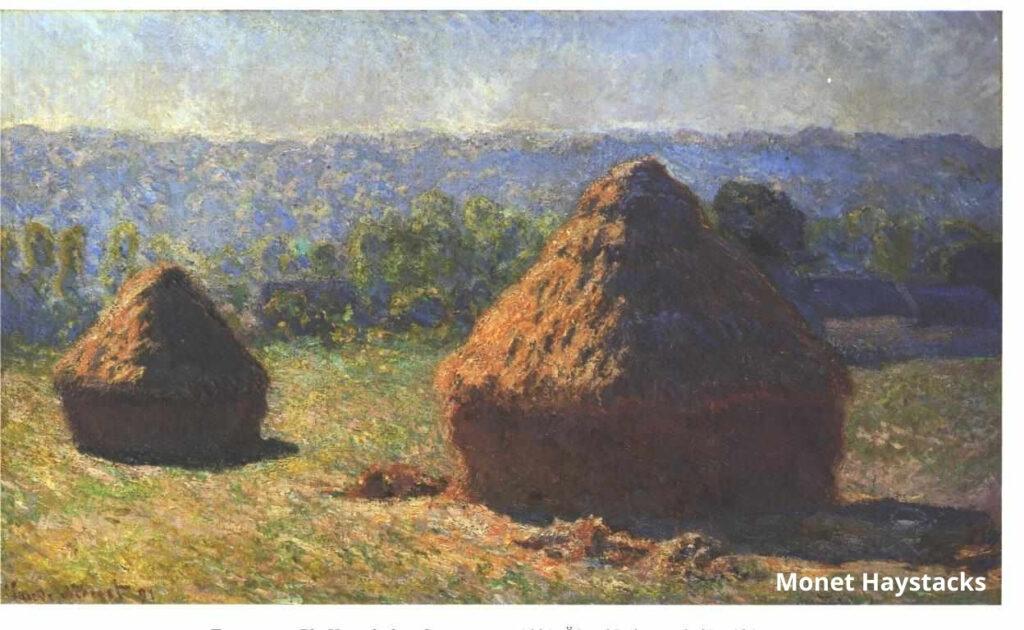 Haystacks in the Late Summer, Claude Monet