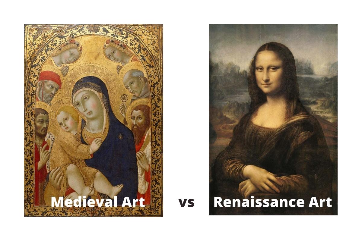 Medieval Art vs Renaissance Art