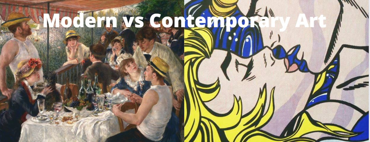 Modern vs Contemporary Art