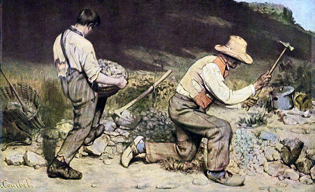 The Stone Breakers - Gustave Courbet