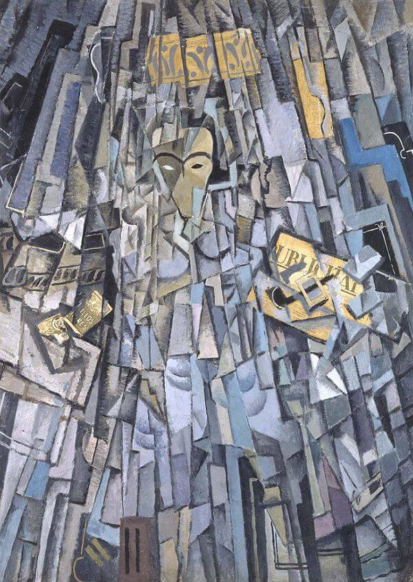 Cubist Self-Portrait, 1923 - Salvador Dali