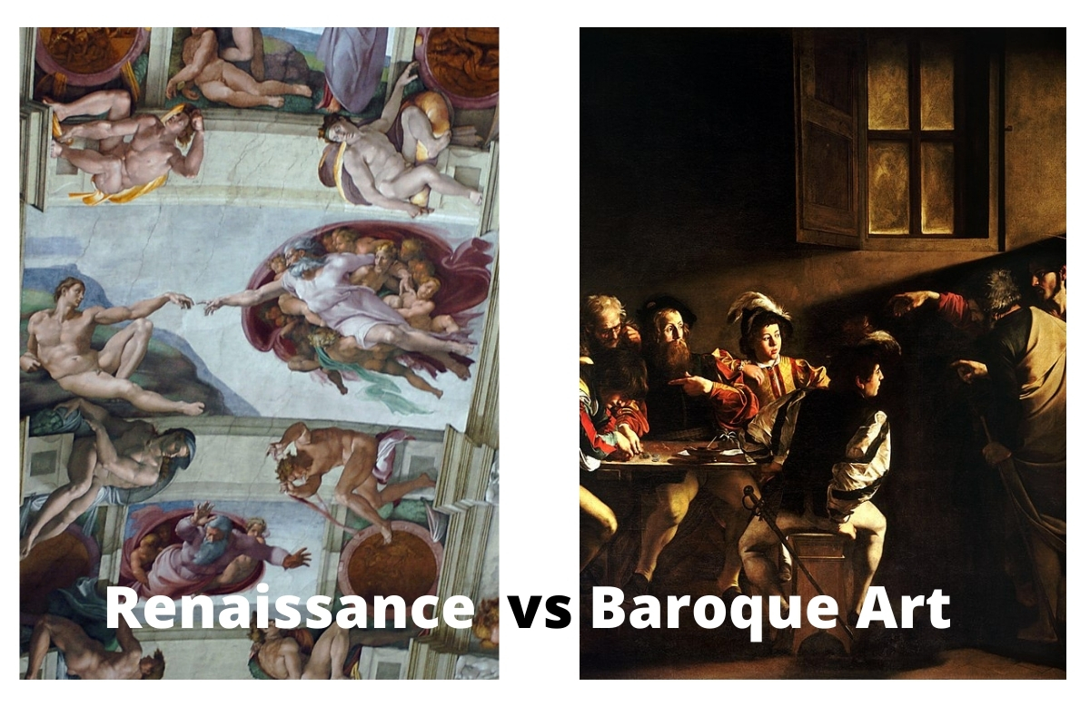 Renaissance vs Baroque Art