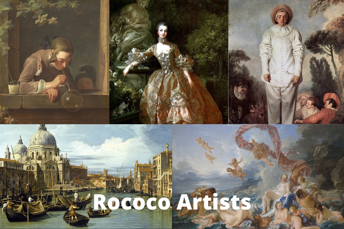 Rococo Artists
