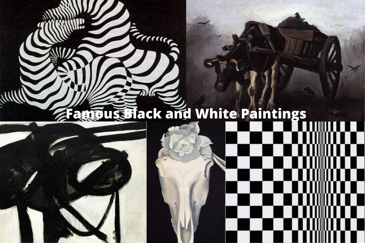 Famous Black and White Paintings
