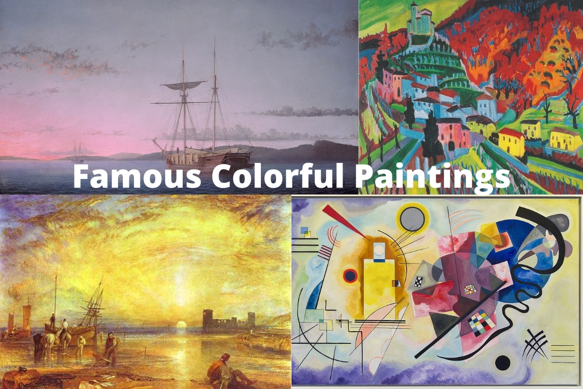 Famous Colorful Paintings