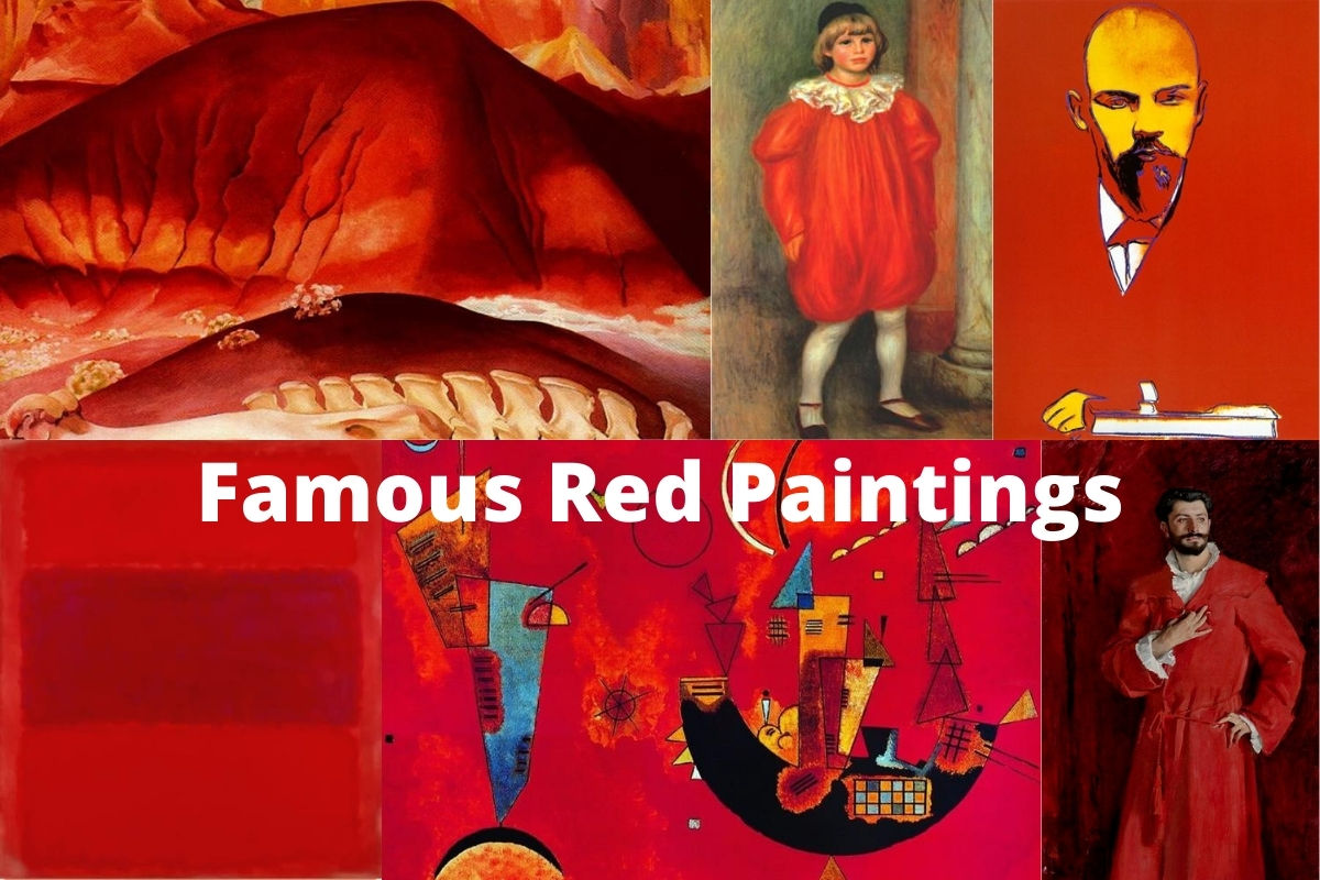 Famous Red Paintings