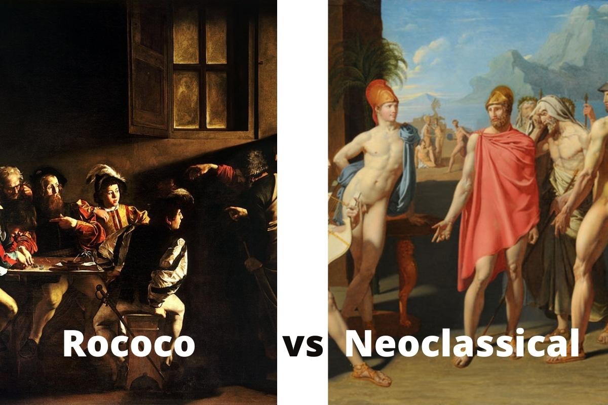 Rococo vs Neoclassical Art