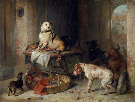 A Jack in Office - Sir Edwin Landseer