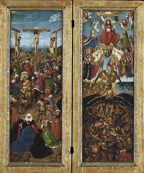 Crucifixion and Last Judgement Diptych - Jan van Eyck