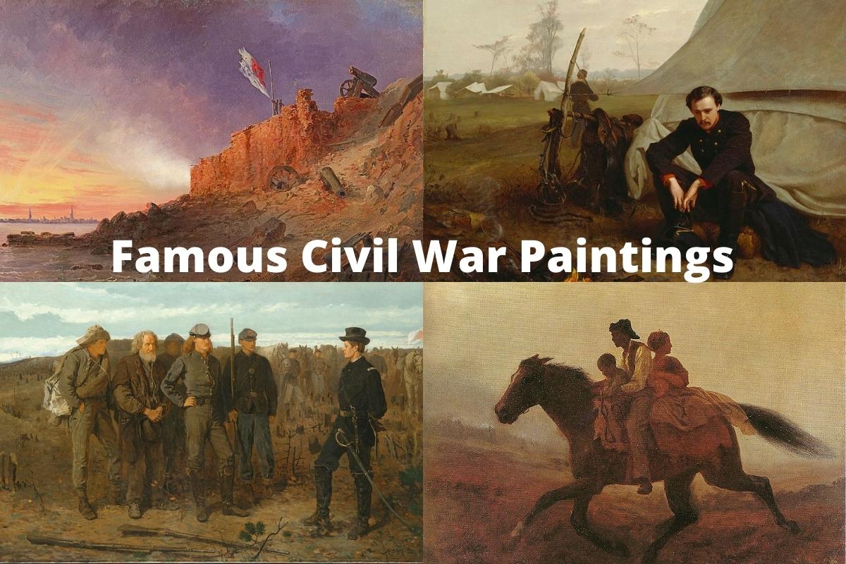 Famous Civil War Paintings