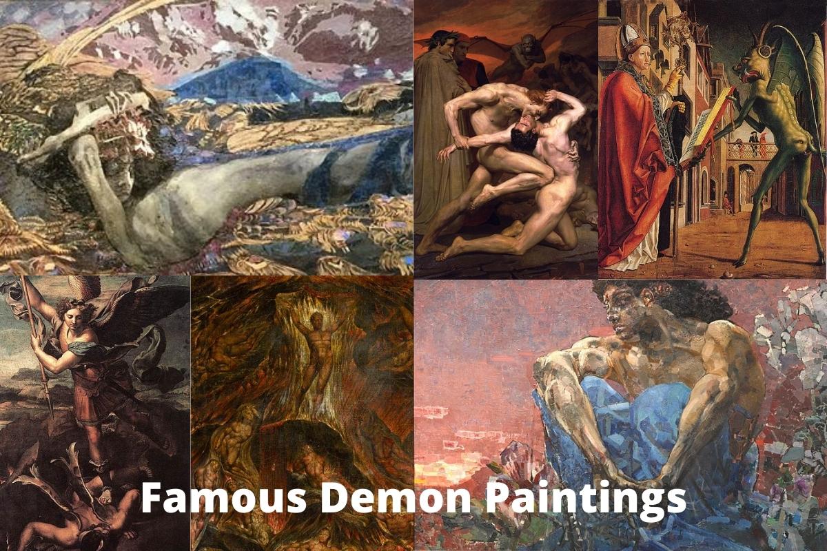 Famous Demon Paintings
