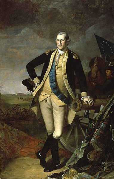 George Washington at the Battle of Princeton - Charles Willson Peale