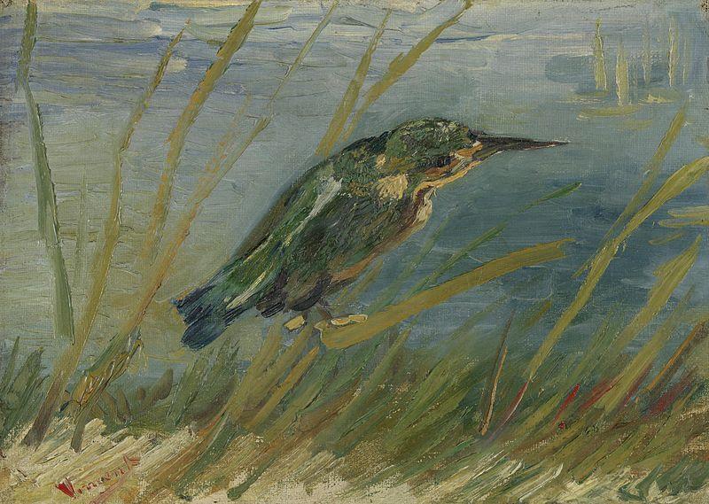 Kingfisher by the Waterside - Van Gogh