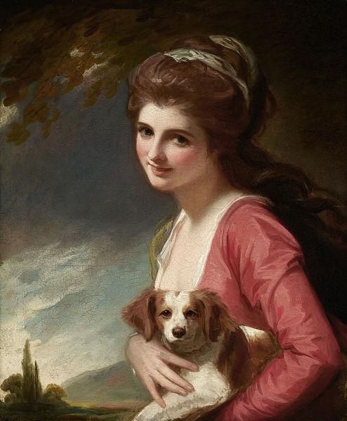Lady Hamilton (as Nature) - George Romney