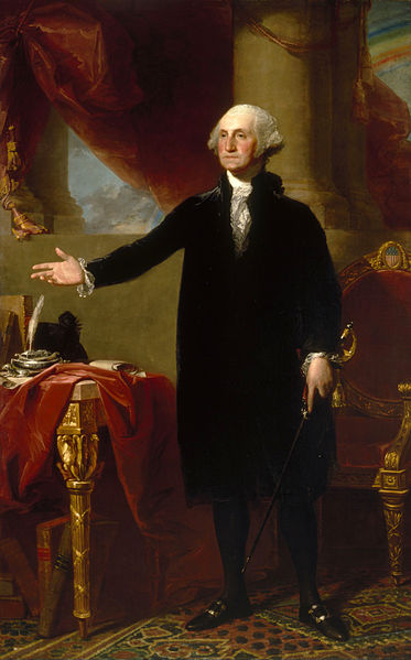 Lansdowne Portrait – Gilbert Stuart