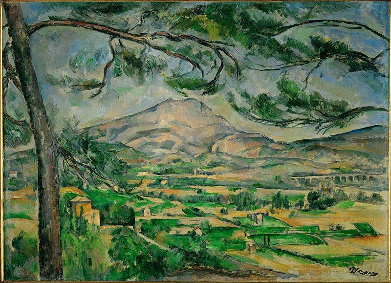 Mont Sainte Victoire (Courtauld) - Paul Cézanne