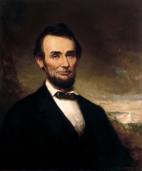 Portrait of Abraham Lincoln - George Henry Story