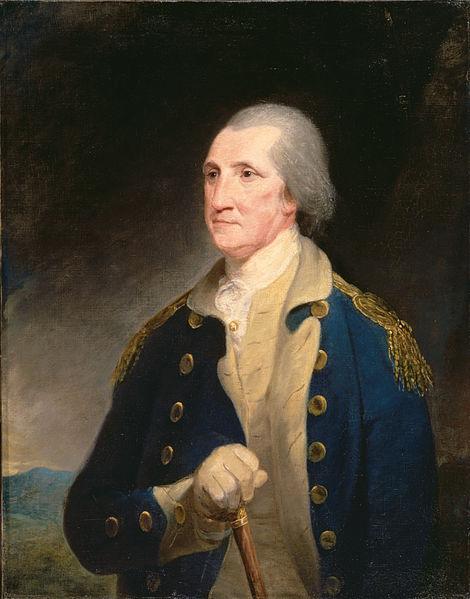 Portrait of George Washington - Robert Edge Pine