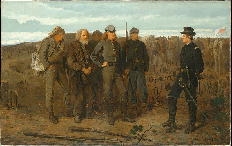 Prisoners from the Front - Winslow Homer