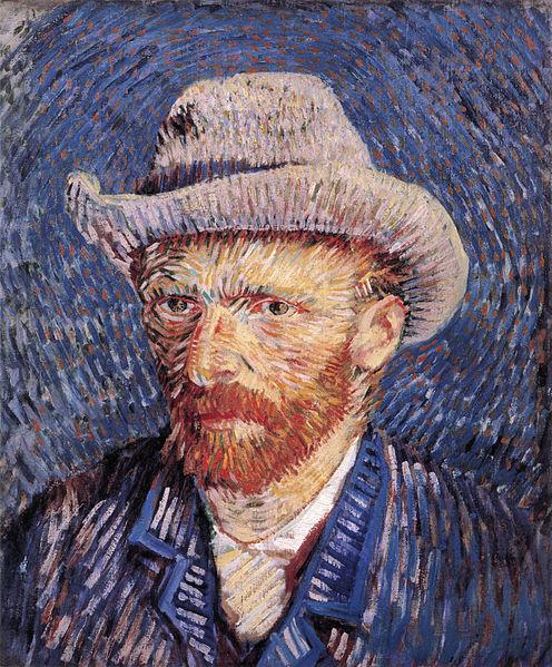 Self-portrait with Felt Hat - Vincent van Gogh