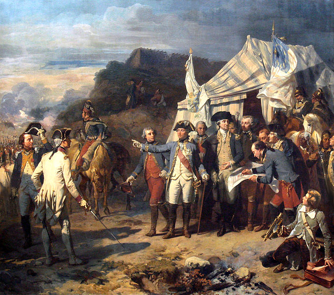 Siege of Yorktown  - Auguste Couder