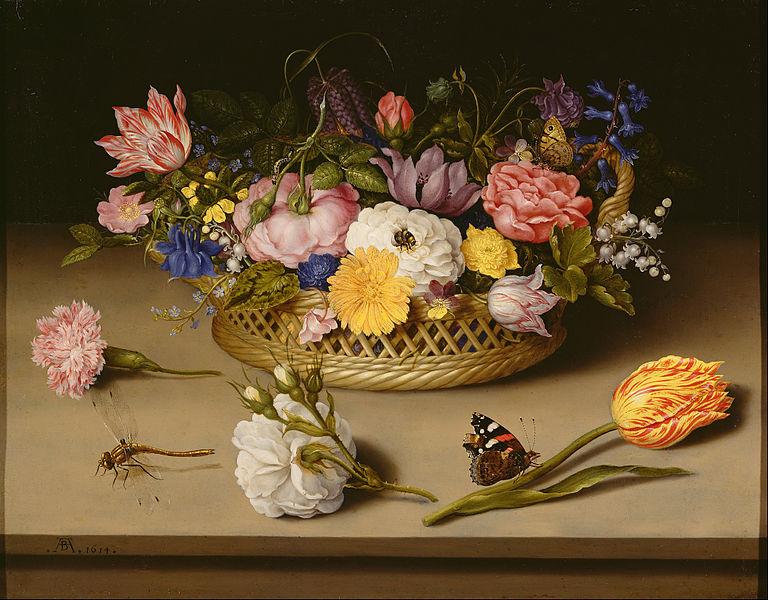 Still Life with Flowers - Ambrosius Bosschaert the Elder