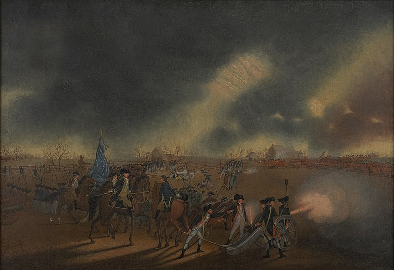 The Battle of Princeton - James Peale
