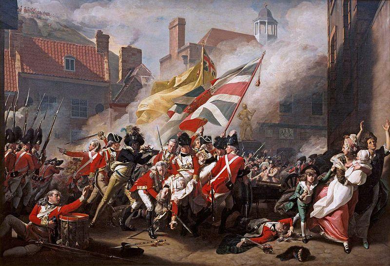 The Death of Major Peirson - John Singleton Copley