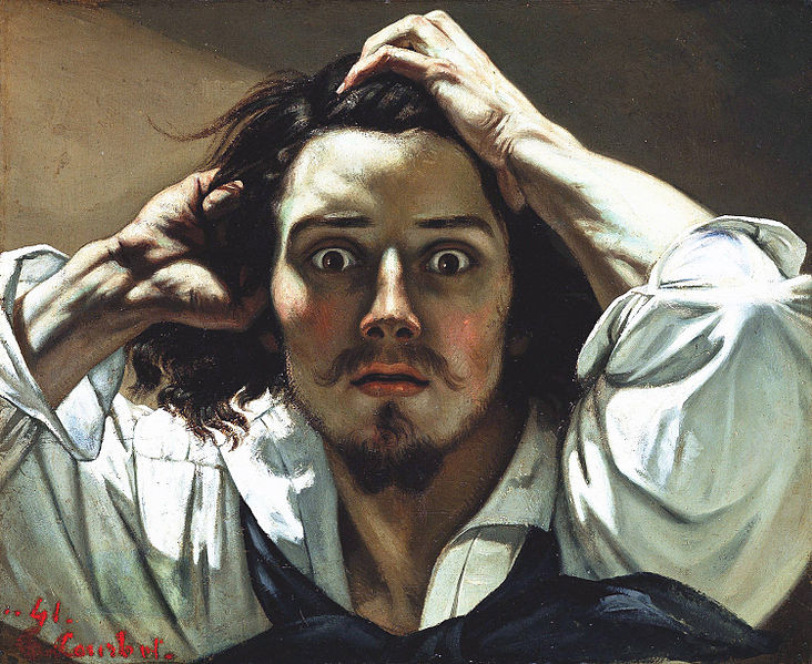 The Desperate Man - Gustave Courbet