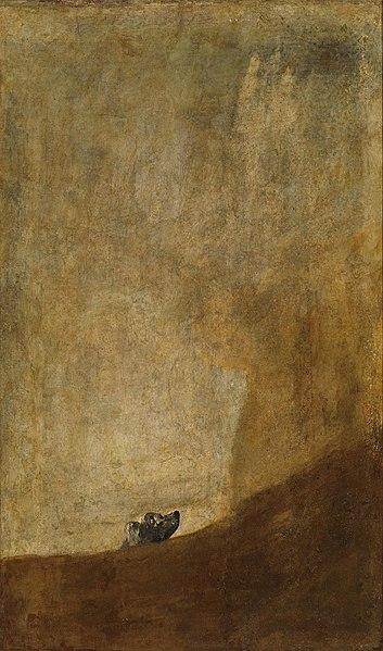 The Dog - Francisco Goya