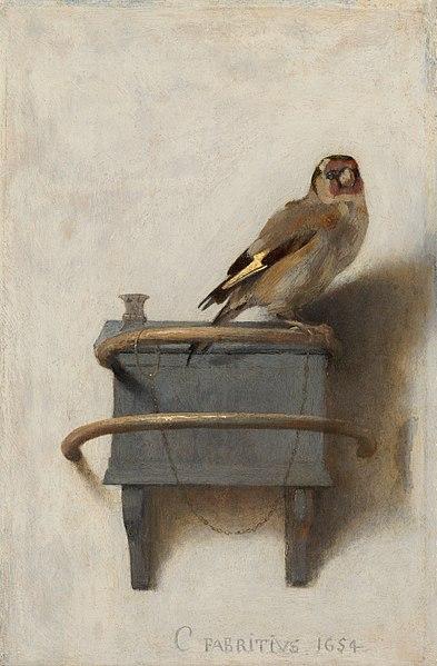 The-Goldfinch Carel-Fabritius
