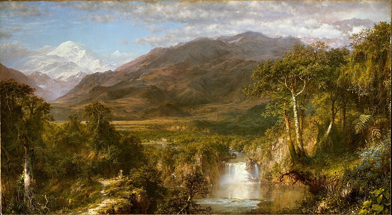 The Heart of the Andes - Frederic Edwin Church