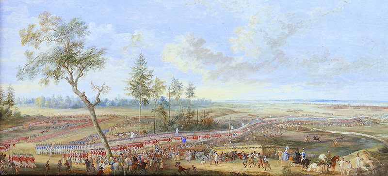The Surrender of Yorktown - Louis-Nicolas Van Blarenberghe