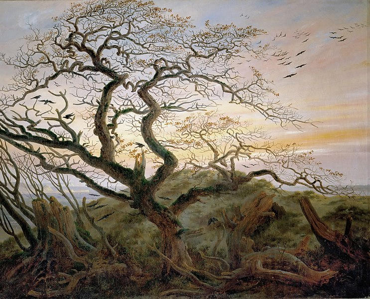 The Tree of Crows - Caspar David Friedrich